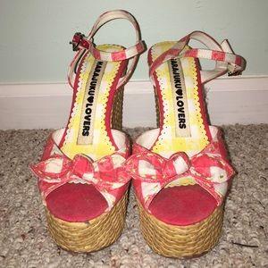 Harajuku Lovers Shoes - HARAJUKO LOVERS wedges