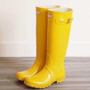Hunter Shoes - Hunter Original Tall Gloss Rain Boots