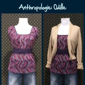 """Anthro """"Streetlight Top"""" by Odille"""