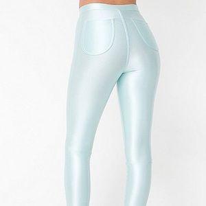 American Apparel Pants - The Disco Pant | American Apparel RARE (Menthe)