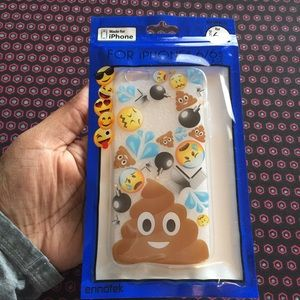 iPHONE 6/6S POOP EMOJI PHONE CASE 