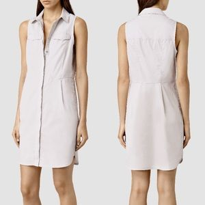 NWT All Saints button down dress size 4