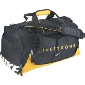 Nike Livestrong duffel bag