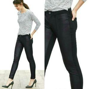 NWOT Banana Republic Sloan Faux Leather Front Pant