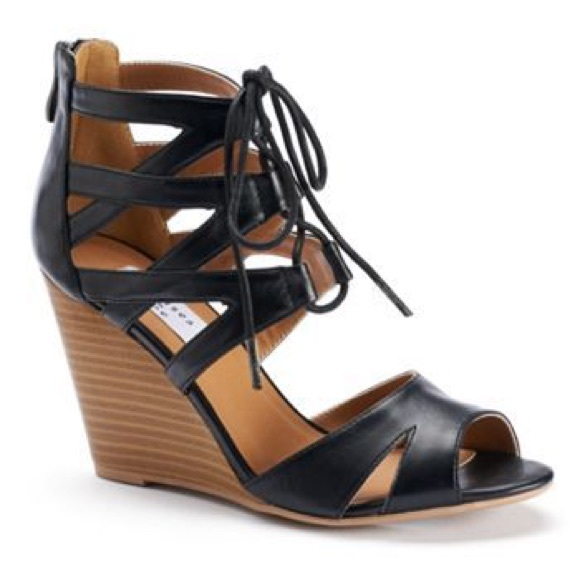 Alana Wedge Slide Sandals B7wgTGpI9a