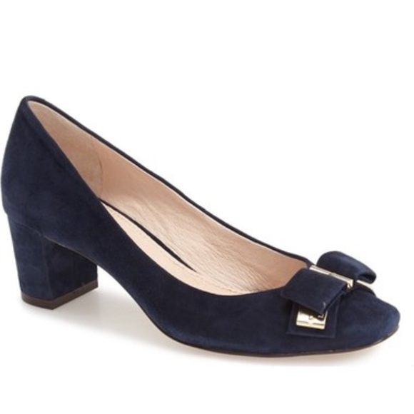 1b9ad18720a Louise et Cie Isolde Bow Pump