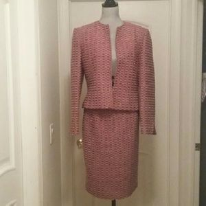 VTG Jones NY Suit in Great Pinks & Purples