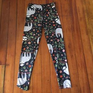 4cb0e94cdd60f4 LuLaRoe Pants | Sloth Leggings | Poshmark