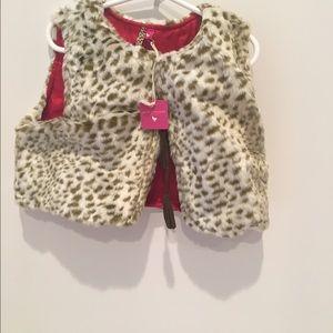 Pink Chicken Other - Amelia Fur Vest by Pink Chicken