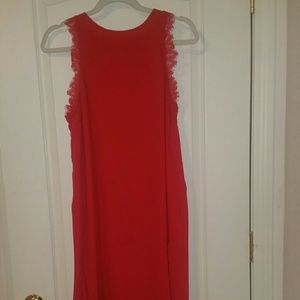 H&M Sexy red midi dress