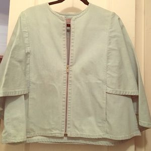 COS Denim Cape