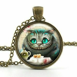 Jewelry - Cheshire Cat Necklace