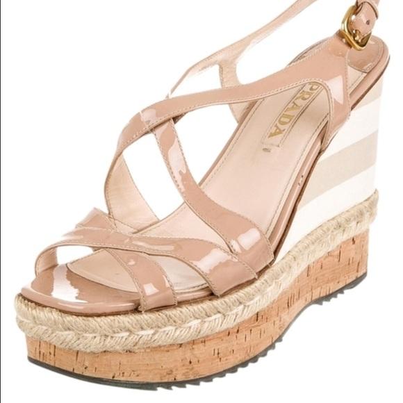 Prada Shoes | Prada Wedges In Great