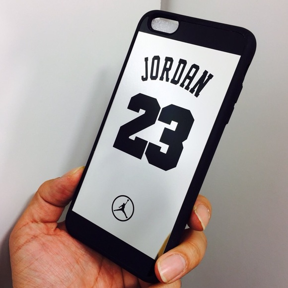 55f92cde0709 iPhone 6 6s Shock defense 23 Jordan mirror case