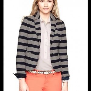 GAP Jackets & Blazers - GAP Striped Academy Blazer