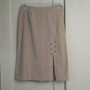 (3/$23) Tan Skirt