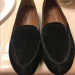 Donald J. Pliner Shoes - Black Suede Donald J Pliner Loafers