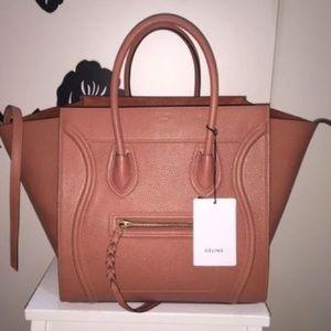 Celine Handbags - Cèline Bullhide Leather Phantom Luggage New