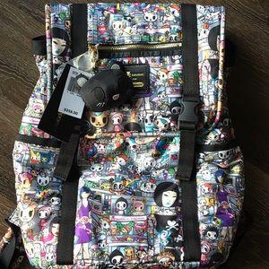 LeSportsac Handbags - Tokidoki Lesportsac metropolitan backpack purse !!
