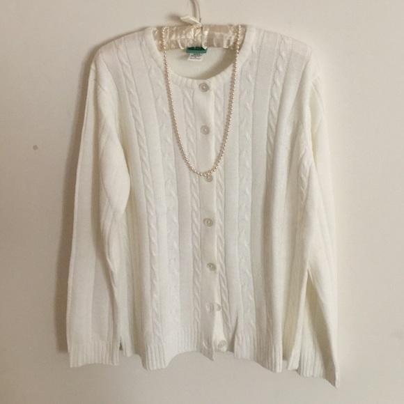 Sara Morgan - Sara Morgan: Winter white soft cardigan! from ...