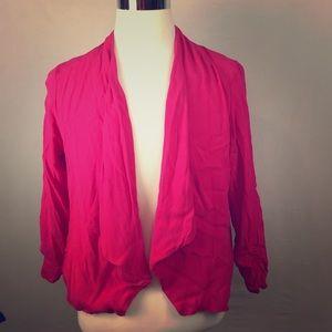 Maurice's XL Pink Casual Blazer Jacket