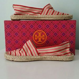 SUMMER is coming!! Tory Burch espadrille shoes