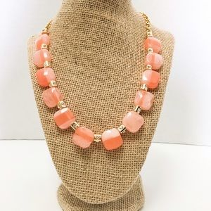 kate spade Jewelry - Kate Spade Blush Stone and Gold Necklace