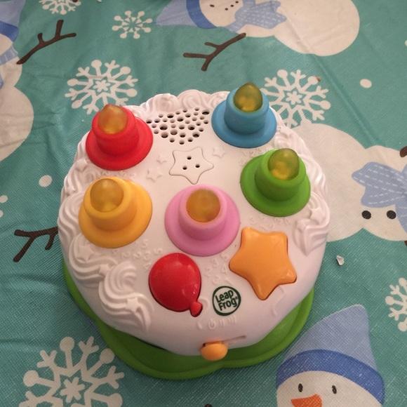 Leap Frog Other Birthday Cake Poshmark