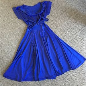 Dance Class Dresses & Skirts - Authentic Blue Salsa Dress
