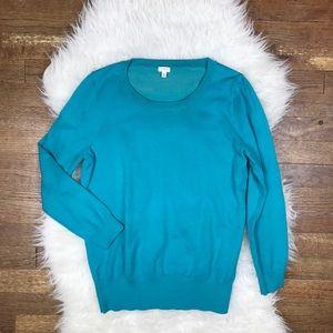 J. Crew Factory Sweaters - J. Crew Cotton Crewneck Sweater