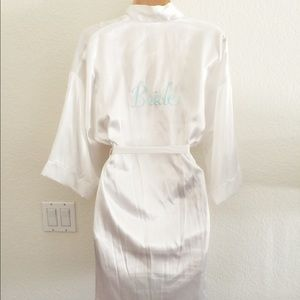 Other - Bridal Robe & Tank Set