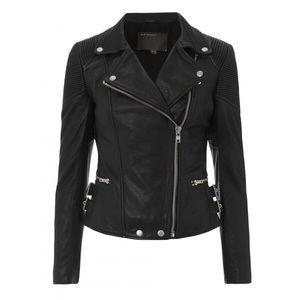 Muubaa Jackets & Blazers - Muubaa Leather biker jacket. Tag sz 8, fit sz 4