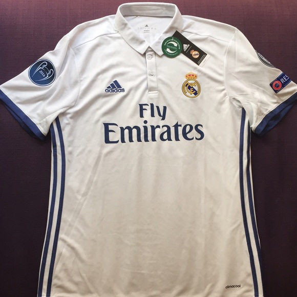 3857793df6e Adidas Shirts | Real Madrid Home Replica Jersey 1617 Ronaldo Nwt ...