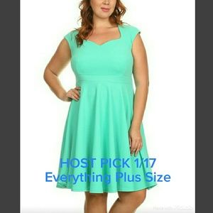 Dresses & Skirts - 2 LEFT 🔴SALE🔴Mint Fit and Flare Dress
