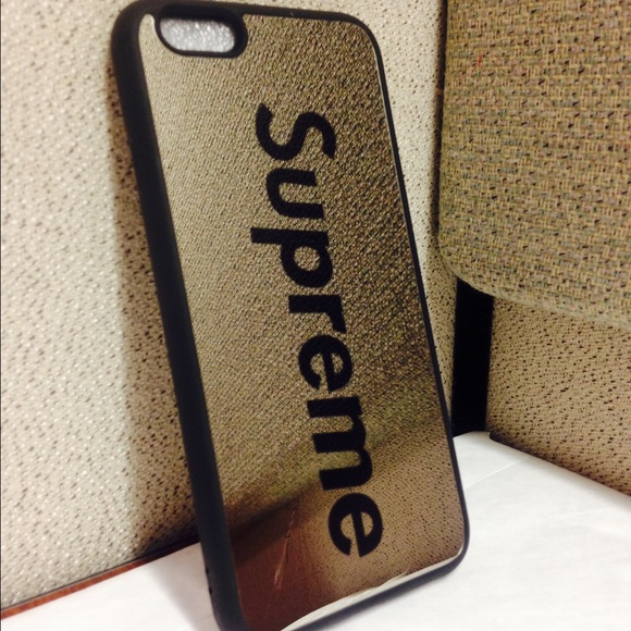 best authentic f90f4 61de3 Shockproof Supreme mirror case iPhone 6/6s Boutique