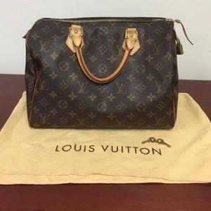 Louis Vuitton Handbags - Authentic Louis Vuitton Speedy 30.