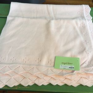 Angel Dear Other - Angel Dear Pointelle Baby Pink Blanket