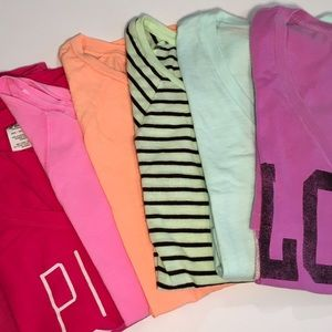 PINK Victoria's Secret Tops - 👗HOST PICK👗BUNDLE: 6 VS PINK TEES!