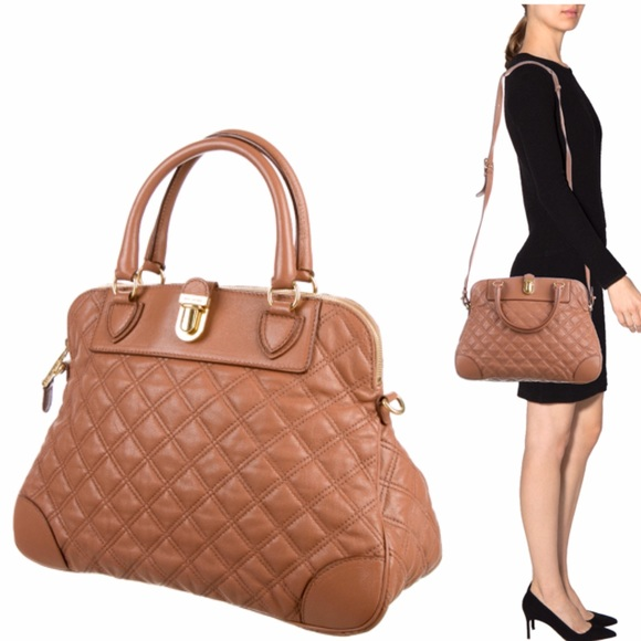 82% off Marc Jacobs Handbags - Authentic Marc Jacobs Whitney ... : marc jacobs quilted satchel - Adamdwight.com