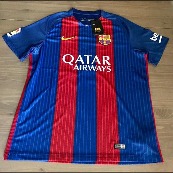 6926ef72af3 Nike Shirts | Messi 10 1617 Barcelona Jersey Liga And Soccer | Poshmark