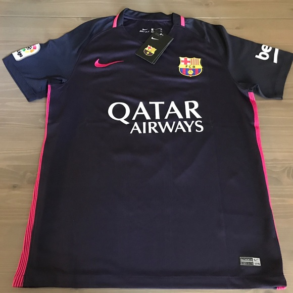 17f2fd246 Messi  10 16 17 Barcelona away purple soccer