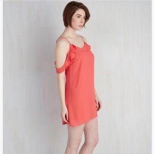 ModCloth Dresses & Skirts - Coral dress