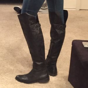 Frye 'Shirley' Over the Knee Boot Size 9.5