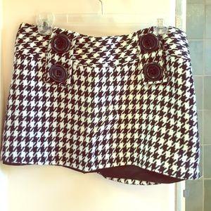 Forever 21 houndstooth miniskirt