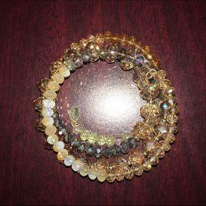 Cake Jewelry - C.a.k.e. Spiral beaded bracelet