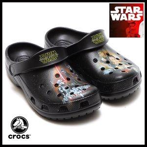 CROCS Other - CROCS STAR WARS CLOGS SANDALS