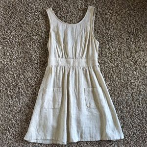 UO Cope canvas peasant dress