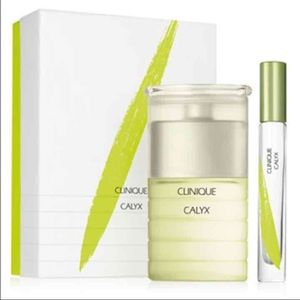 New Clinique Calyx Perfume Spray & Rollerball Set