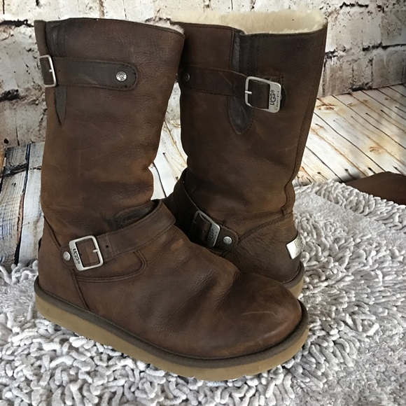 Ugg brown leather Style 5678 Kensington - size 10
