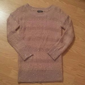 bebe Sweaters - NWOT XS/S Gorgeous Bebe soft pink sweater*